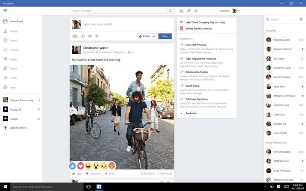 facebook masaüstü