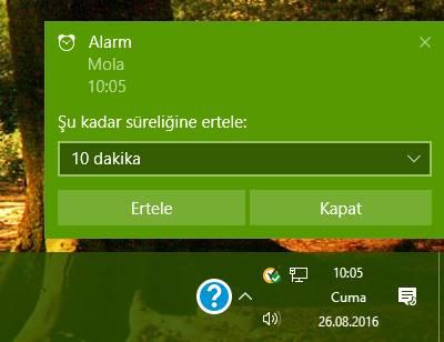 windows 10 alarm 2