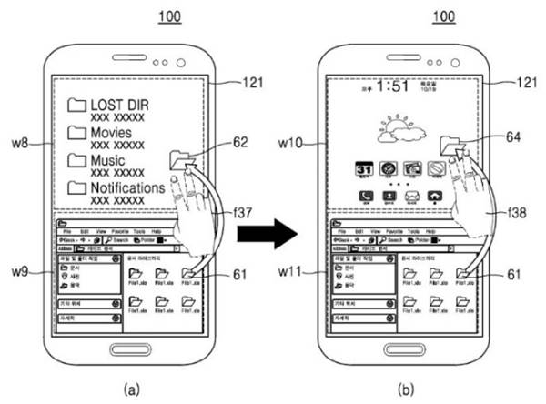 Samsung'dan Android ve Windows phone telefon 2