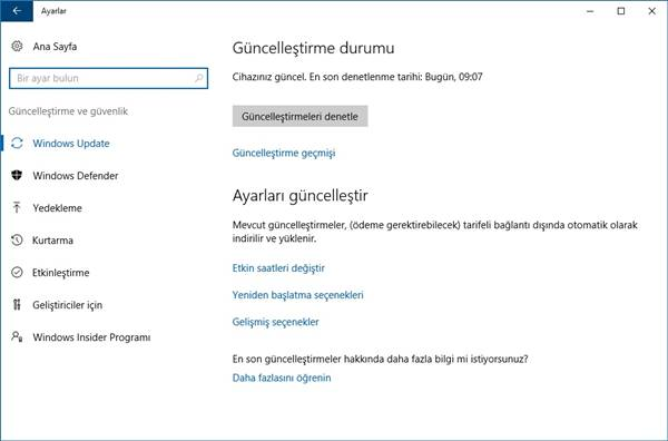 windows-10-guncelleme