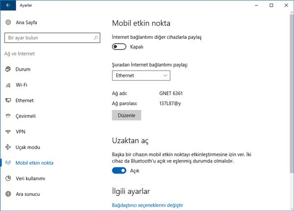 windows 10 mobil etkin nokta 2