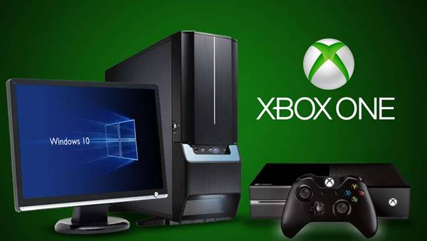 xbox ve windıws pc
