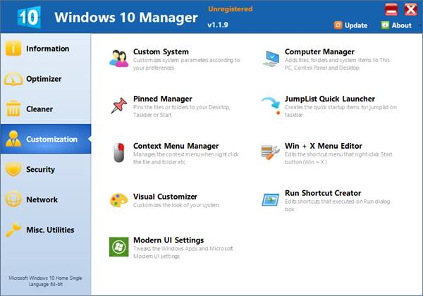 windows-10-manager-costimization