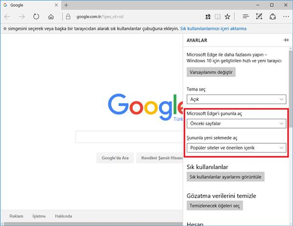 microsoft-edge-google-ana-sayfa-yapma-1