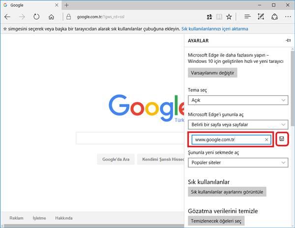 microsoft-edge-google-ana-sayfa-yapma-2