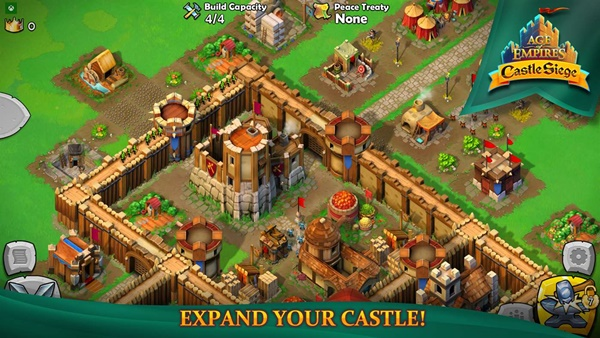 Age of Empires Castle Siege oyunu