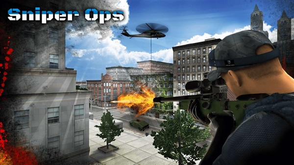 Sniper Ops 3D Kill Terror Shooter