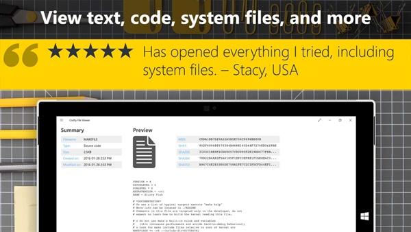 Crafty File Viewer uygulama