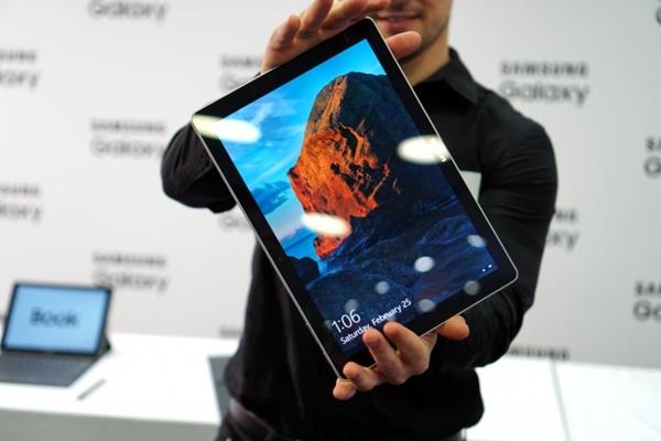 Samsung Galaxy Book tablet