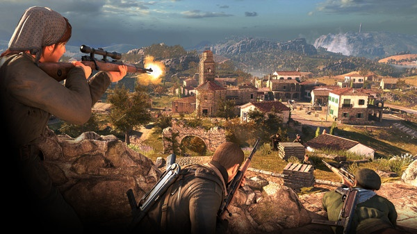 Sniper Elite 4 oyunu