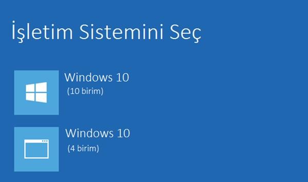 iki işletim sistemi