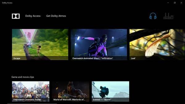 Windows 10 İçin Dolby Atmos Ses Programı – Dolby Access