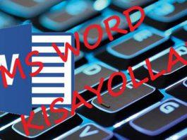 Hatırlaması Kolay Microsoft Word Klavye Kısayolları