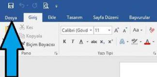 Word Belgesini PDF veya başka bir dosya biçimi olarak kaydetme