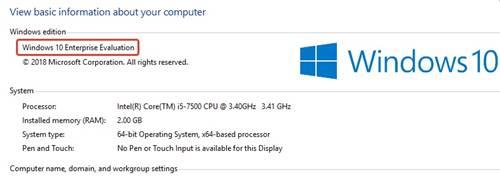 Orjinal Windows 10 Enterprise 32 bit ve 64 bit indirme