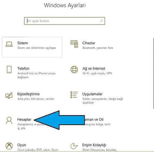 Windows 10 Hesap Nasıl Kaldırılır?